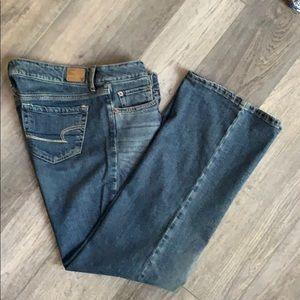 American Eagle size 12 favorite boyfriend jeans
